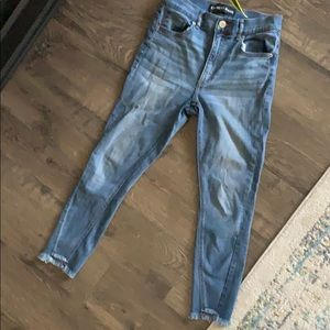 High-waisted Express Jeans